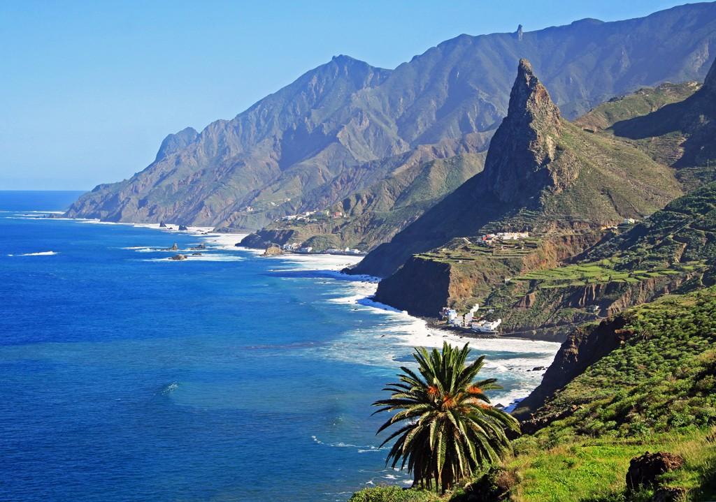 Taganana coast Tenerife