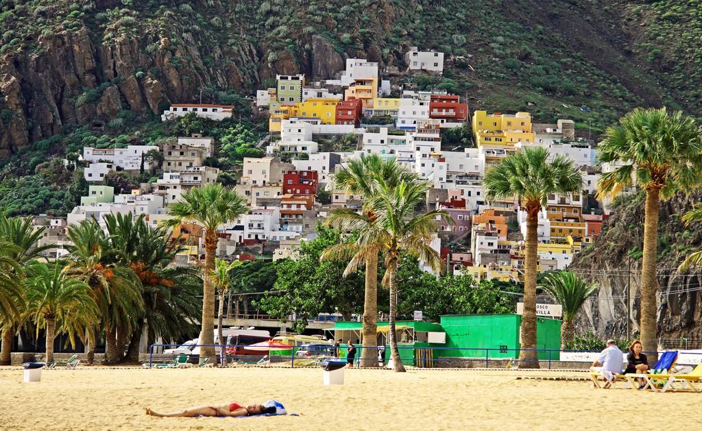 San Andres Tenerife Playa Las Teresitas