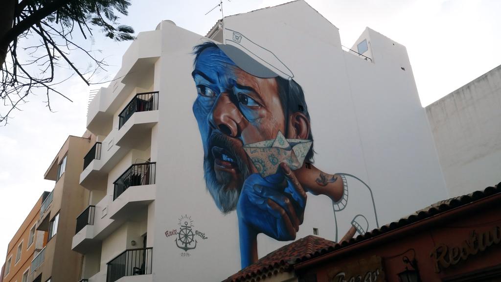 Street Art in Puerto de la Cruz Tenerife