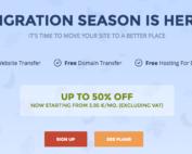webhosting siteground migration offer