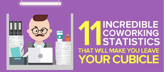 Infographic Coworking Statistics that will make you leave your cubicle business2communitycomshort