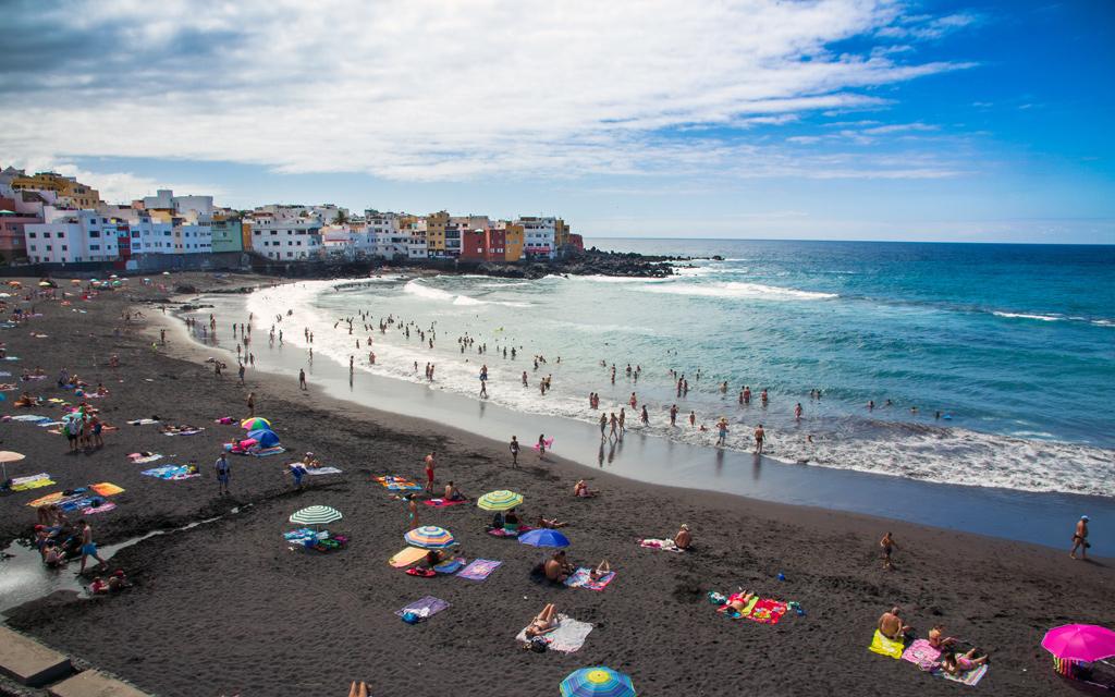 Playa Jardin Puerto de la Cruz Tenerife