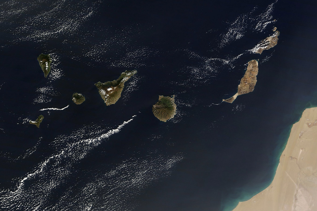 Map Canary Islands Tenerife 22 Reasons Why