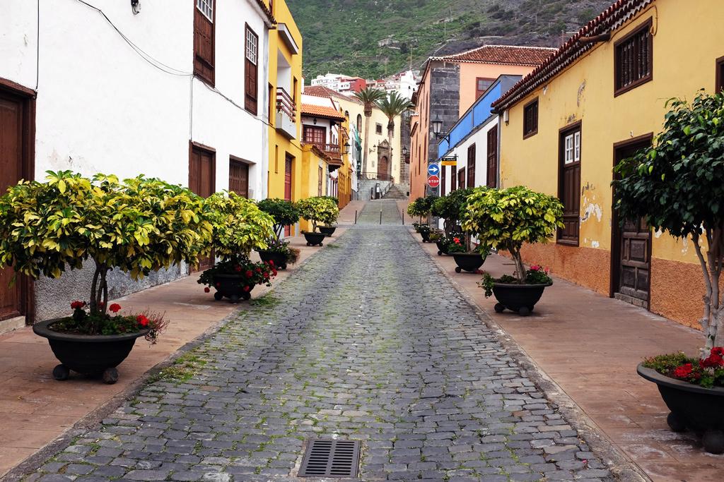 Street in Garachico Tenerife
