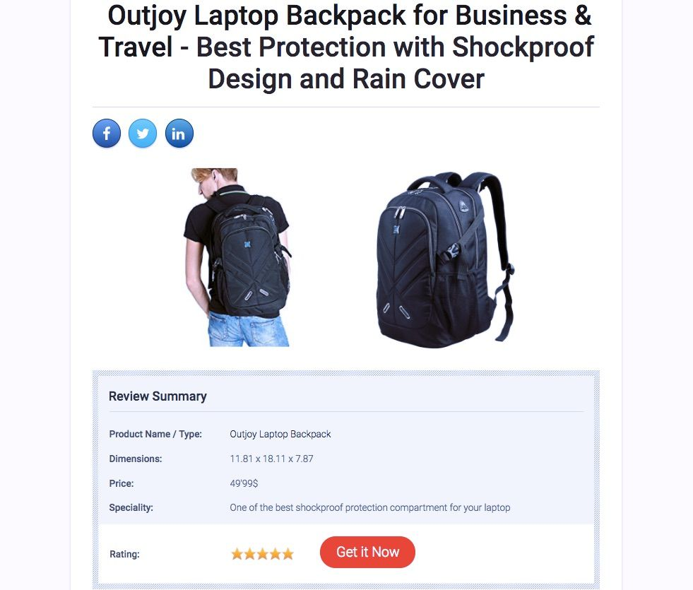 landing-page-backpack-example