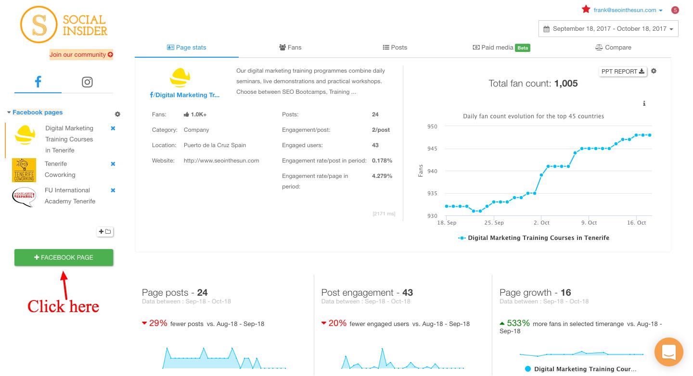 Social Insider Data