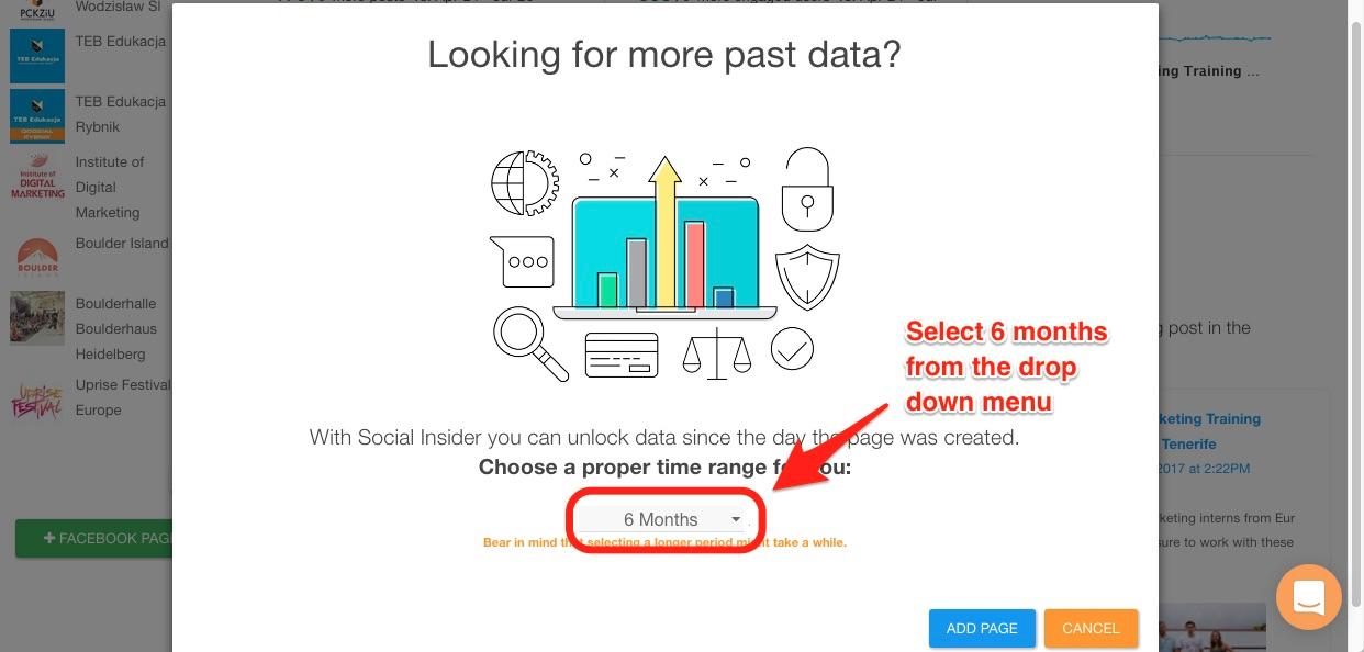 Social Insider Facebook Data
