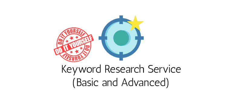 Keyword Research Service - DIY